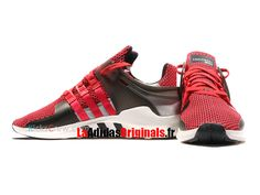 the latest db68b 3ad8c Adidas Equipment Support ADV - Chaussure Adidas Running Pas Cher Pour  HommeFemme Rouge
