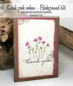 Stampin' Up! 2017 Background, Diy And Crafts, Paper Crafts, Thankful For Friends, Paint Cards, Creative Cards, Flower Cards, Scrapbook Cards, Homemade Cards