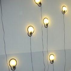 Droog sticky lamp wall light