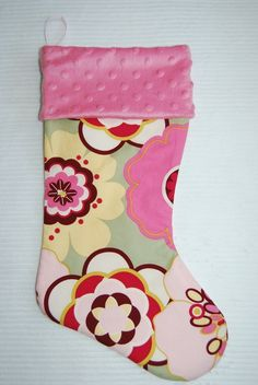 Sage Kleo Christmas Stocking Cyndiloo Boutique by cyndilooboutique, $20.00