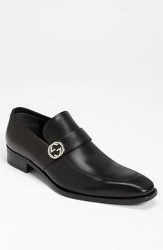 Gucci 'Double G' Loafer #Gucci-Men's-Shoe #BLACK