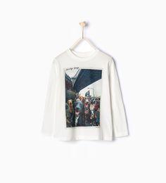 """ BROOKLYN BRIDGE"" top - View all - T - shirts and Polos - Boy | 4 - 14 years - KIDS | ZARA United Kingdom"