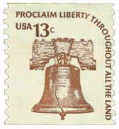 "great stamp USA ""Proclaim Liberty"" (bell, Glocke) united states america amerika u. postage Stamp USA United States of America timbre États-Unis u. Old Stamps, Rare Stamps, Vintage Stamps, Vintage Tools, Stamp Values, Stamp World, States In America, United States, Going Postal"