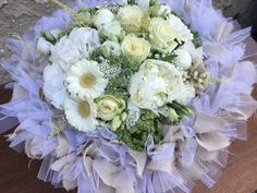 WHITE bouquets <tone in tone> White Bouquets, Bridal Show, Floral Design, Floral Wreath, Wreaths, Home Decor, Homemade Home Decor, Door Wreaths, Floral Patterns