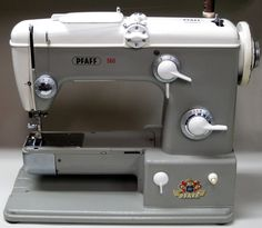 MI Vintage Sewing Machines: Pfaff 360 (1960)