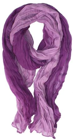 LibbySue-Ombre Watercolor Scarf in Multiple Colors for 11$