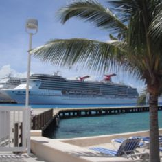 Cozumel. Not our ship, but this is how we arrived.
