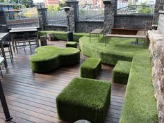 No explanation required for some of these more unusual artificial grass installations and applications. Walls, floors, ceilings, seats - with a little imagination, artificial grass can go anywhere.  www.surface-it.com.au