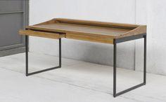 Wood & Iron  Desk.