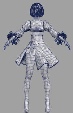 자료 House & Garden zaxby's the house zalad garden 3d Model Character, Character Modeling, Character Concept, Zbrush, Polygon Modeling, 3d Modeling, Anim Gif, Final Fantasy Artwork, 3d Human