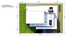 Homekoncept 30 house Project with attic projects domw kreoDOM. Stag Design, Home Projects, Project Projects, Modern House Design, Bauhaus, Bungalow, Pergola, Floor Plans, Construction