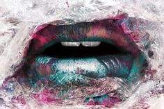 graphic lips