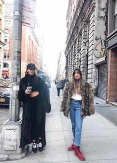 #sistersbybloodbestfriendsbychoice   #kisterss #nyc #newyork #timberland  #sisters #bestfriends #starbucks #streetstyle