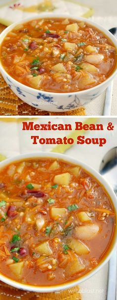 Rich, hearty soup = Comfort food !