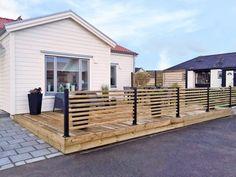 Patio Fence, Composite Decking, Outdoor Living, Outdoor Decor, Garden Inspiration, Countryside, Shed, Home And Garden, Backyard
