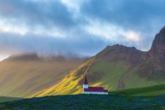 Light in the Valley, Church at Vik, Iceland by Dusty Doddridge on 500px