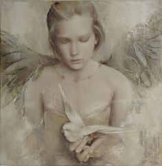 Elvira Amrhein, german painter, was born in 1957 in Germany Daughter and granddaughter of artists, Elvira Amrhein's work is deeply spiritual, intriguing and overwhelming. Today, Elvira Amrhein lives in France Artodyssey