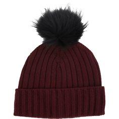 Barneys New York Fur Pompom Beanie Sale up to 70% off at Barneyswarehouse.com