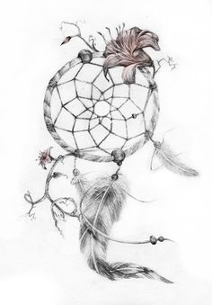 New Dreamcatcher Tattoo Designs Dream Catcher Drawing, Dream Catcher Tattoo Design, Small Dream Catcher, Dream Catchers, Small Tattoos, Cool Tattoos, Tatoos, Dreamcatcher Tattoo Meaning, Sunflower Tattoo Small