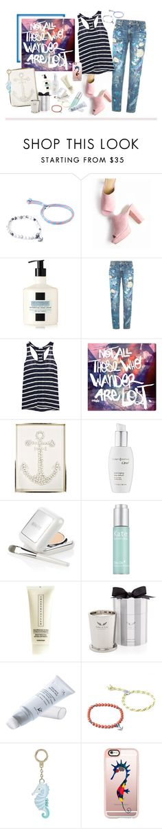 """""""Marine Layer: Striped Shirts"""" by katiesdelight ❤ liked on Polyvore featuring Anchor & Crew, LAFCO, Polo Ralph Lauren, Splendid, Oliver Gal Artist Co., Karen Robertson Collection, Clarisonic, La Mer, Kate Somerville and Chantecaille"""