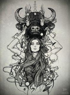 dark illustration - Pesquisa Google