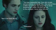 I know what you are... A translator.