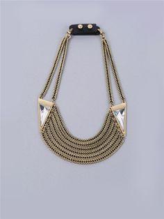 Chain Statement Necklace | Loris Shoes