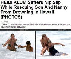 I'm so done with this planet. She saved two lives and all they care about is her nipple. This is sexism, my friends.