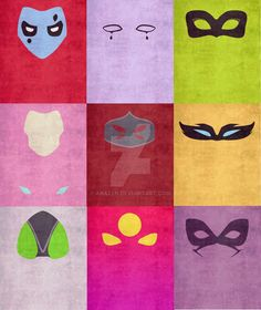 Some of my top faves in the mask series I've been doing :3 Miraculous Ladybug belongs to Thomas Astruc Art designs belong to Anazen
