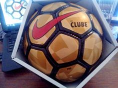 Nike FutSal Soccer BALL Style SC2773 COLOR 707 CLUBE PRO INDOOR FUTBALL  Gold  Nike ba58b8b10489c