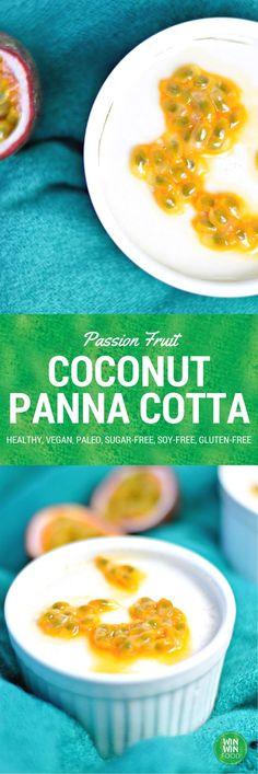 Coconut Panna Cotta Mehr