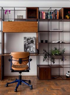 Simple home office designs. Whether you are planning on adding a home office or restoring an old area right into one, below are some brilliant home office design ideas to assist you begin. Home Office Decor, Home Office Furniture, Industrial House, Office Interiors, Home Office Lighting, Industrial Home Offices, Industrial Apartment Decor, Shelving, Office Design