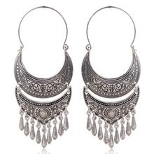 Cheap earrings copper, Buy Quality earring plug directly from China silver antibiotic Suppliers: Big Face Zinc Alloy Retro Design Antique Silver Bronze Plated Dangle Earrings Heavy Moon Earrings, Silver Earrings, Silver Ring, Silver Jewelry, Silver Necklaces, Vintage Jewelry, Gland, Bronze, Hanging Earrings