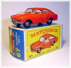 Matchbox 67b Volkswagen 1600TL (1967)
