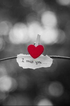 I miss you from my heart.
