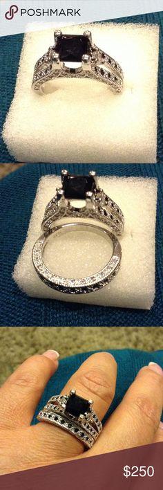 Movado Sterling Silver Black Onyx Ring Mov ado Sterling Silver