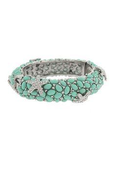 Starfish Cabochon Bracelet by Fall Ready: Jewelry Blowout on @HauteLook
