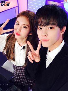 161024 UP10TION Wooshin & ioi somi MC #UP10TION #업텐션 #Wooshin #우신 #ioi #somi #THESHOW #THESHOW韩秀榜