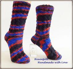 Socken -  Socken handgestrickt OSTFRIESLAND Gr. 39-40 - ein Designerstück von Hexenpott bei DaWanda