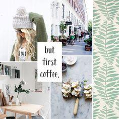 Moodboard #88 — But first coffee.   Peek Inside