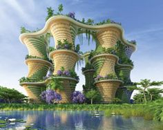 vincent callebaut's hyperions is a sustainable ecosystem that resists climate change