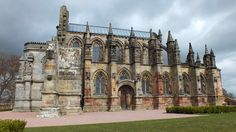 Rosslyn Chapel - founded by my 15th Great Grandfather, William Sinclair, 1st Lord Sinclair, 3rd Earl of Orkney, and 1st Lord of Caithness. Modern day, this chapel was featured in The Da Vinci Code.