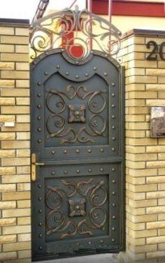 Кованые ворота №57