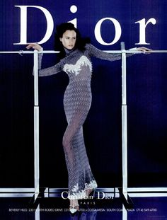 Christian Dior ad Fall 1998. Photography by Nick Knight