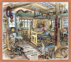 Мобильный LiveInternet Мир уюта и добра, созданный художницей Kim Jacobs. Часть 1. | Akmaya - Записки Akmaya |