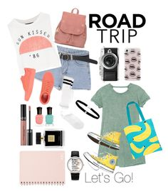 """""""Let's Go!!!!"""" by raina-farisya on Polyvore featuring Topshop, Vans, ASOS, TOMS, RVCA, Sunnylife, Converse, Rebecca Minkoff, Geneva and Sephora Collection"""