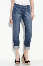 New Markdown  KUT from the Kloth 'Roll-Up' Boyfriend Stretch Jeans (Indulgent Wash)  Was: $69.00  Now: $45.9 33% OFF