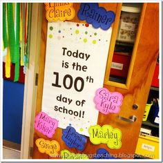 Doodle Bugs Teaching {first grade rocks!}: 100th day of fun!