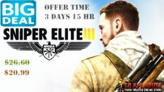 Big Deal At #CdkeyHouse Buy Sniper Elite 3 Cdkey steam and Save $6 Offer Price: Offer Available: 3 Days 15 Hours Get the Deal Here: