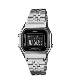 Buy Casio Silver Tone Black Dial Digital Watch at Argos.co.uk - Your Online Shop for Men's watches.